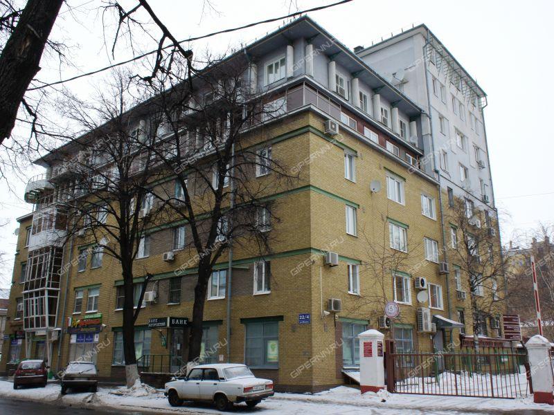 трёхкомнатная квартира на улице Минина дом 22