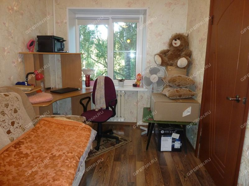 двухкомнатная квартира на улице 40 лет Октября дом 9 город Кстово