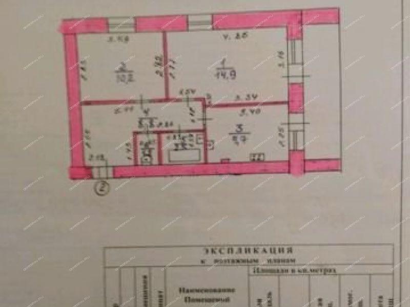 двухкомнатная квартира на  посёлок Южный