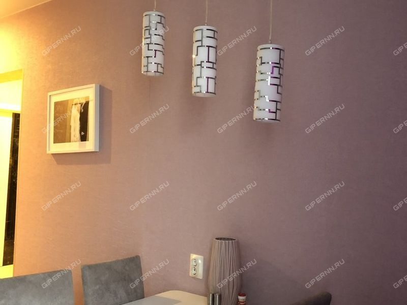 двухкомнатная квартира на улице Бурнаковская дом 51