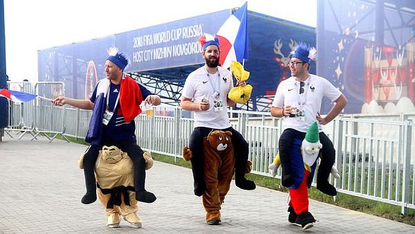 Консульский центр для французских болельщиков открылся в Нижнем Новгороде - Фото