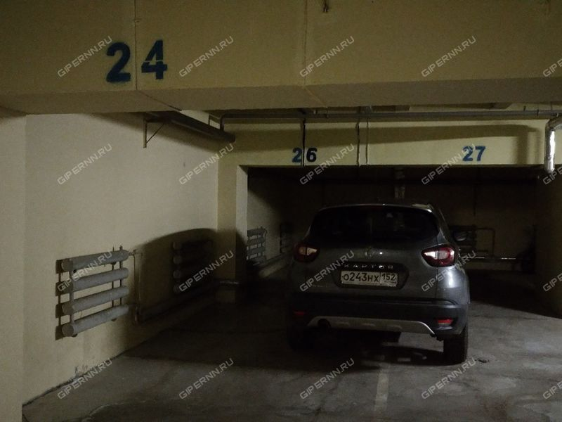 парковочное место на улице Фрунзе